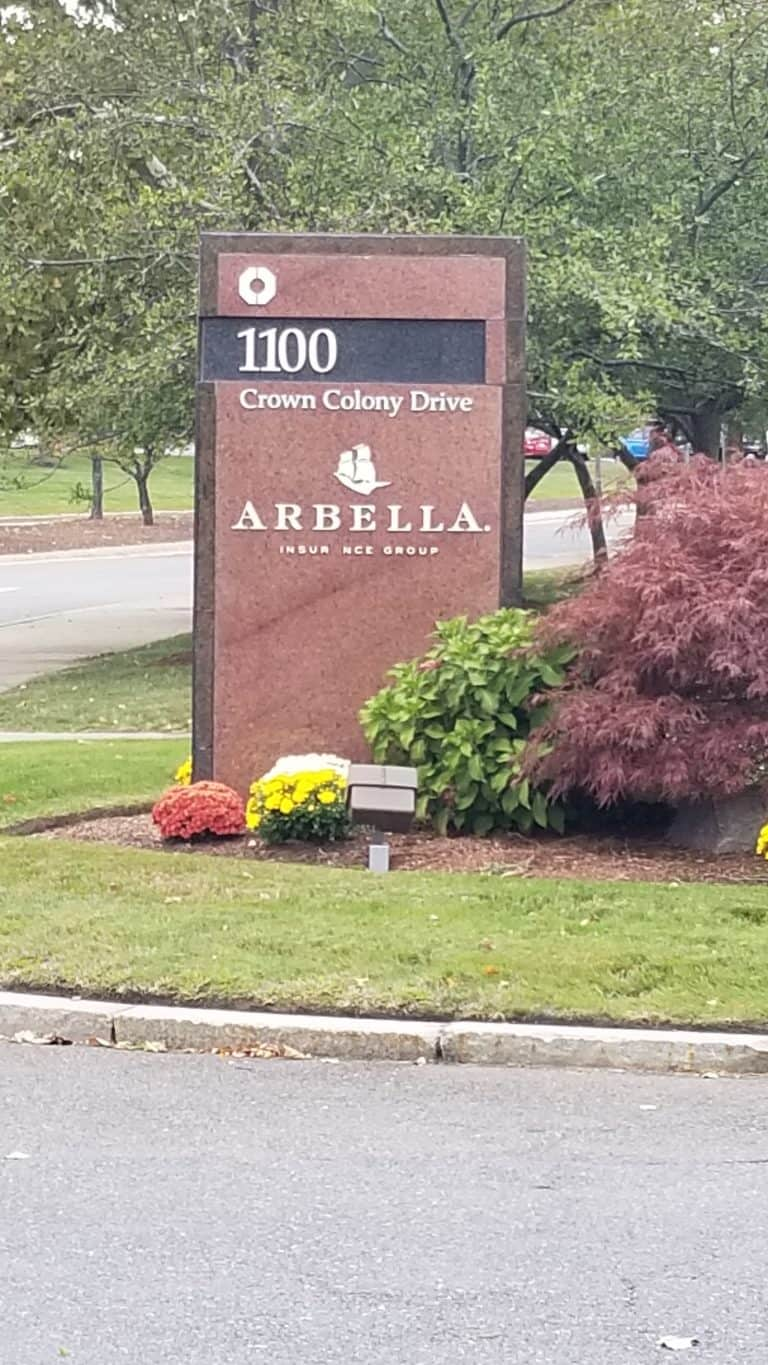 Arbella Insurance Company - Service of Process
